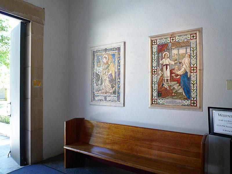 セント アンドリュース大聖堂 内観