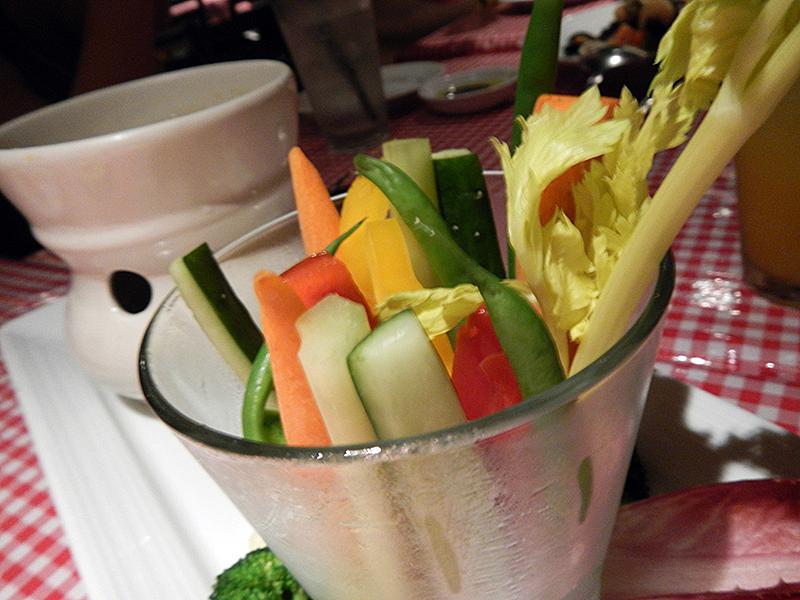 アランチーノ 野菜スティック