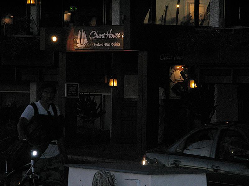 チャート・ハウス 入口