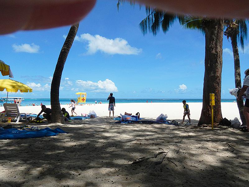 マニャガハ島 ビーチ