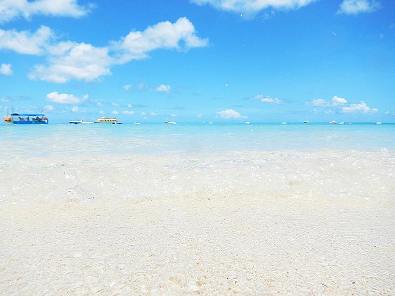 マニャガハ島 海