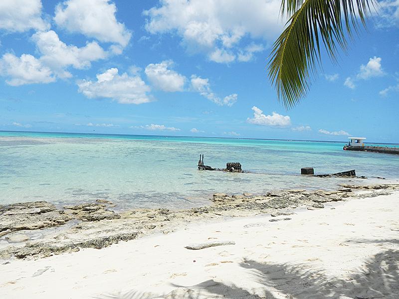 マニャガハ島 島の周り